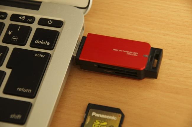 デジカメ写真もサクサク高速転送!!ELECOMカードリーダライタ(MR3-C004系)はコンパクトでUSB3.0対応で超イケてる!!!
