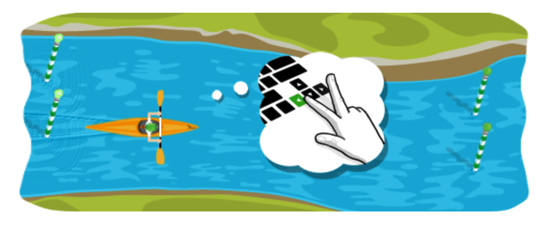 2012 年カヌー スラローム - Doodle
