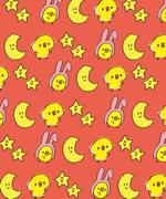 ひよこのうさぎのかぶりもの - ゆるくててきとうなイラスト素材集「ぴよたそ」.png