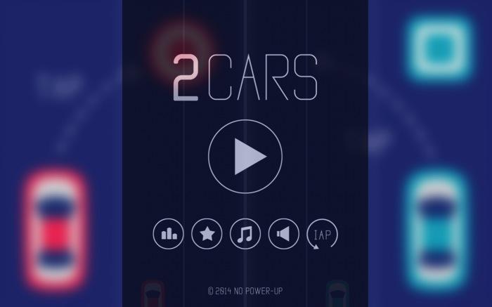 脳みそバラバラに分解して挑みたい無料スマフォアプリゲーム「2 Cars」