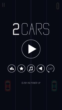 脳ミソ分解して挑みたい無料スマフォアプリゲーム「2 Cars」
