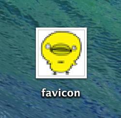 Macのプレビューでfaviconを作る