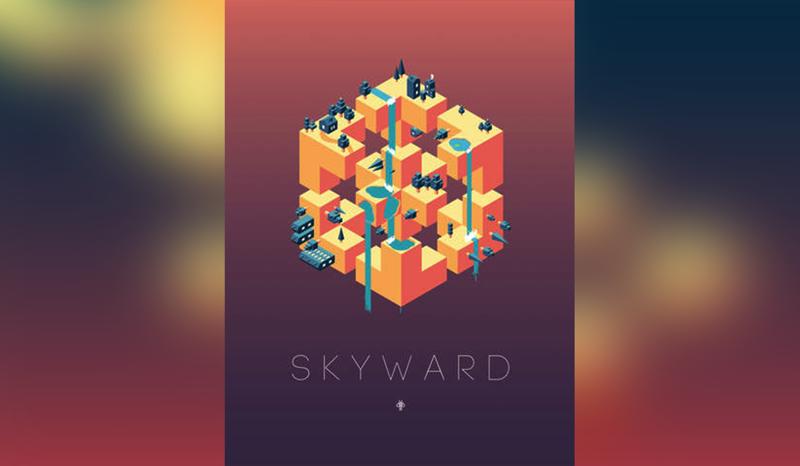 面白い!世界観だけMonumentValley風の全然違うスマホゲーム「Skyward」がなかなか良作だった
